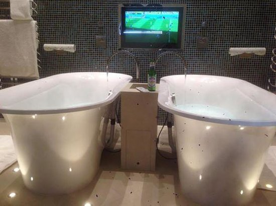 Pennyhill Park, an Exclusive Hotel & Spa: world cup, bath and beer.. Everyones a winner!