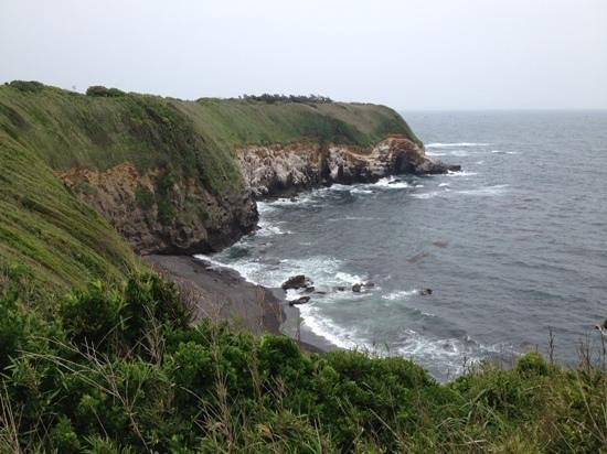 Jogashima Island: shoreline