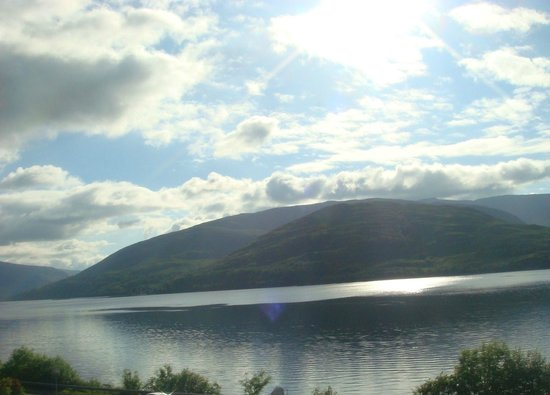 Clan Macduff Hotel: Our view from the room