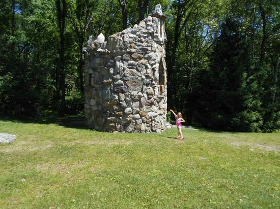 Columcille Megalith Park: bell tower
