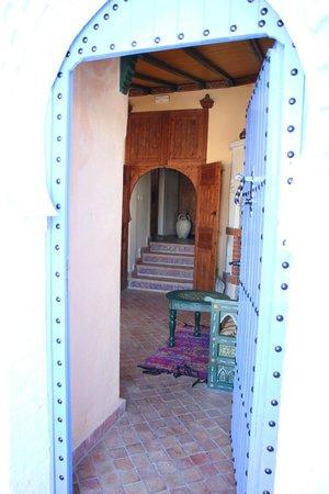 Dar Echchaouen : Entrée par le salon marocain