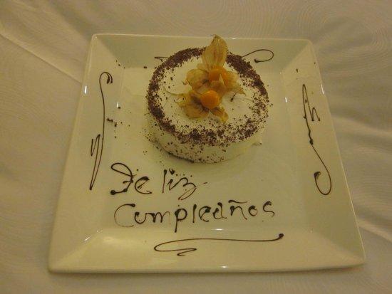 JW Marriott El Convento Cusco : cumpleaños