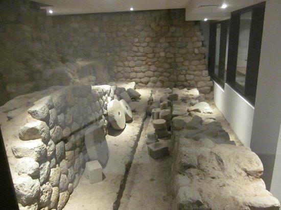 JW Marriott El Convento Cusco: zona arqueologica dentro del hotel