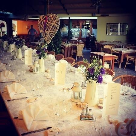 Ristorante Pizzeria Tasso: table set up....