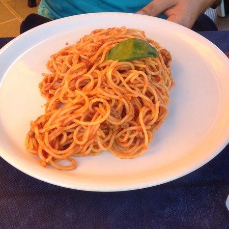 Baia Saracena: spagheti ragu bolognese