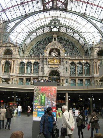 Antwerp's Port: Train Station