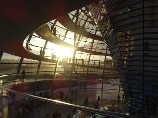 Plenarbereich Reichstagsgebäude: Die Reichtagskuppel