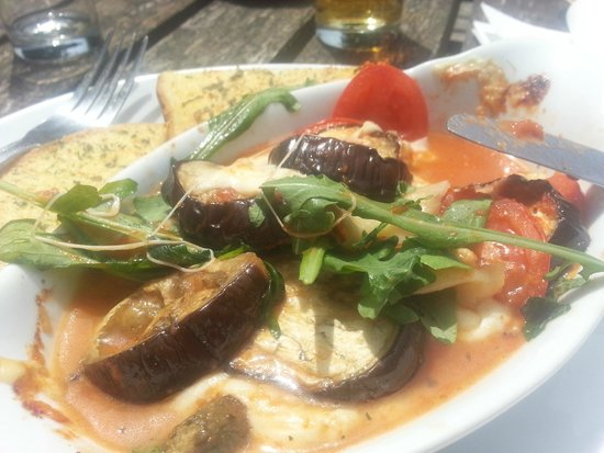 The Queen's Head: Aubergine, Aubergine, why aren't you cooked?