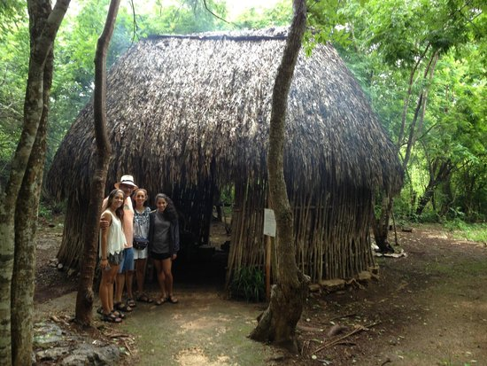 The Lodge at Uxmal: Mayan hut