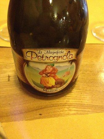 La Vecchia Lira: Birra alle castagne...