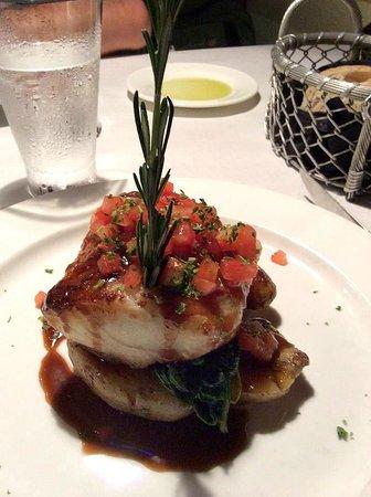 Verdi's An American Bistro: Sea Bass