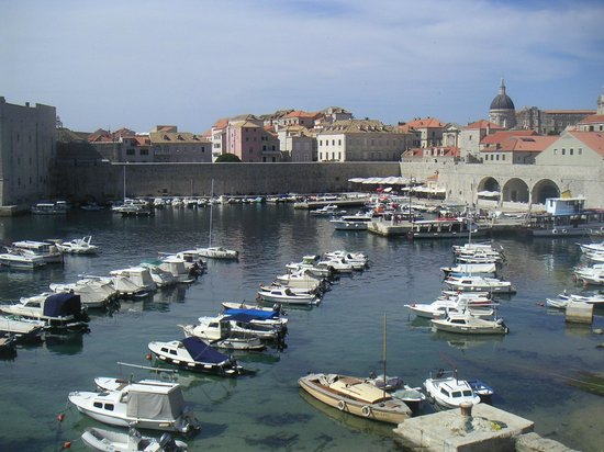 Hotel Zagreb: le port de Dubrovnik