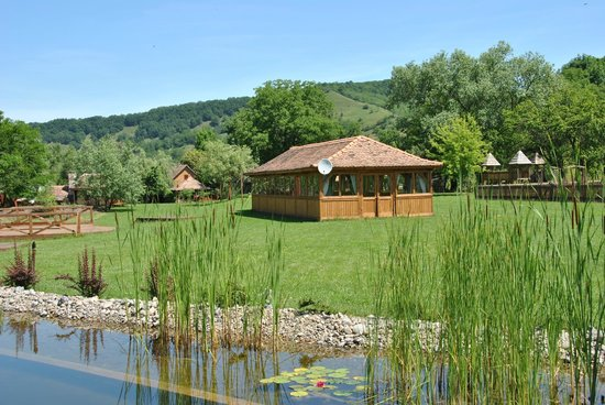 Valea Verde Resort: Lake pavilion