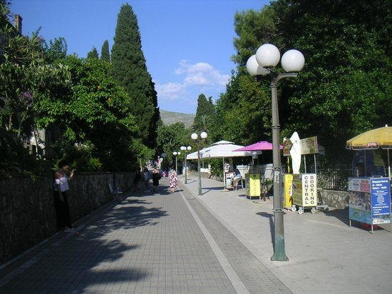 Hotel Zagreb: la rue pietonne