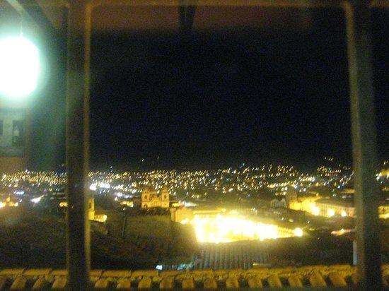 Piccola Locanda : View from Cecilia at night