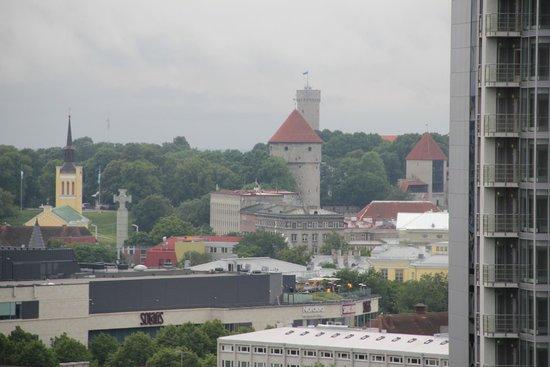 Swissotel Tallinn: Вид из окна