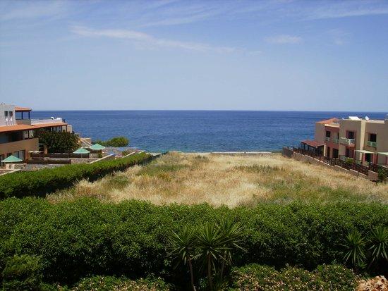 SENTIDO Vasia Resort & Spa : View from balcony