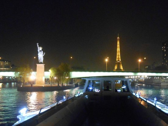 Bateaux Mouches: View from top of the boat
