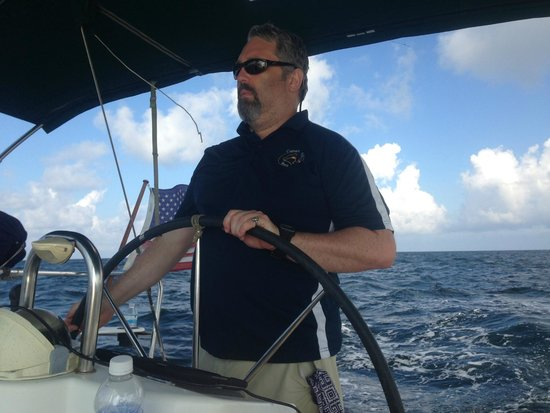 Emerald Coast Yachts Day Tours: Out in the Gulf