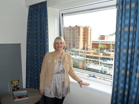 Holiday Inn Hull Marina: view from the room