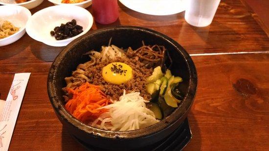 Seoul Korean Cuisine: hot pot bibimbap