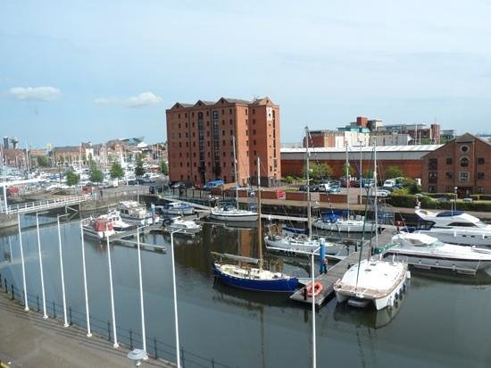 Holiday Inn Hull Marina: great view