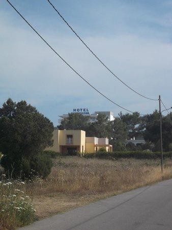 Hotel Apartamentos Monterrey : Location of the Monterrey