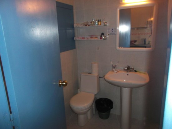 Apartahotel Monterrey: Bathroom
