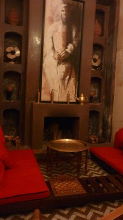 Riad Magellan Yoga : Salon