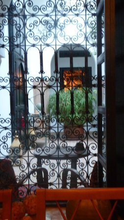 Riad Magellan Yoga : Patio
