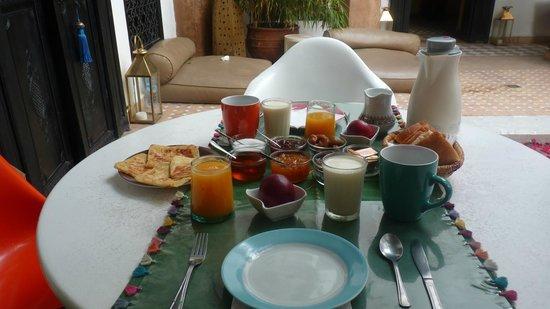 Riad Magellan: Petit Déjeuner