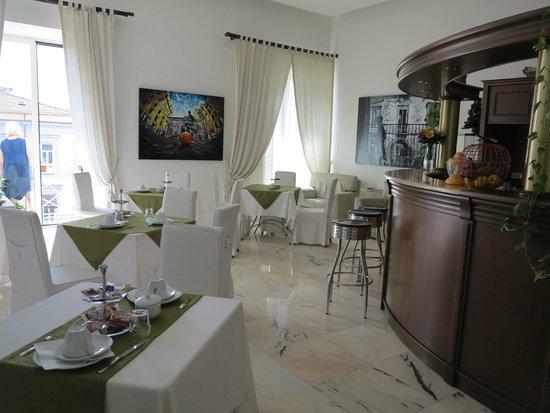 B&B Palazzo Ruffo di Bagnara: Breakfast area