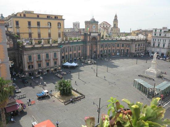 B&B Palazzo Ruffo di Bagnara: View from the window