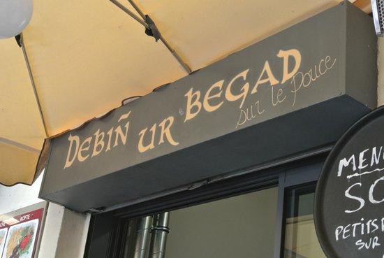 Debin ur Begad : le restaurant