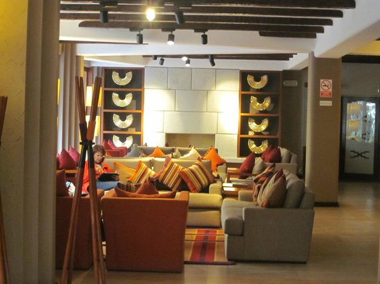 SUMAQ Machu Picchu Hotel: LOBBY