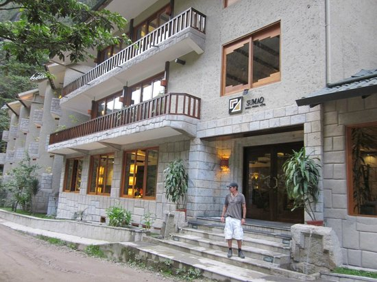 SUMAQ Machu Picchu Hotel : FACHADA HOTEL SUMAQ