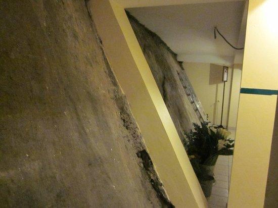 """SUMAQ Machu Picchu Hotel : PARTE TRASERA HOTEL """"EL HOTEL ESTA PEGADO AL CERRO"""