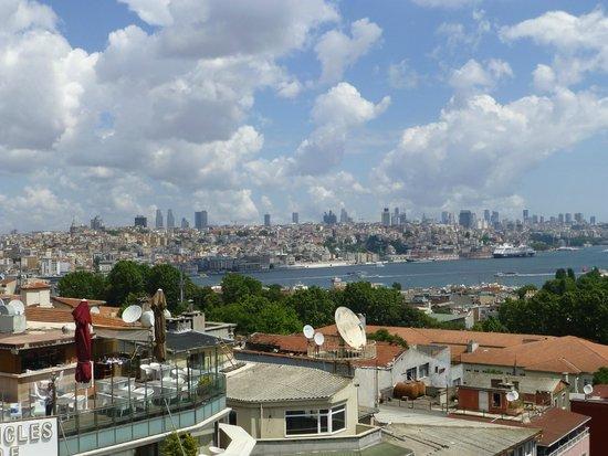 Adamar Hotel : view from terrace