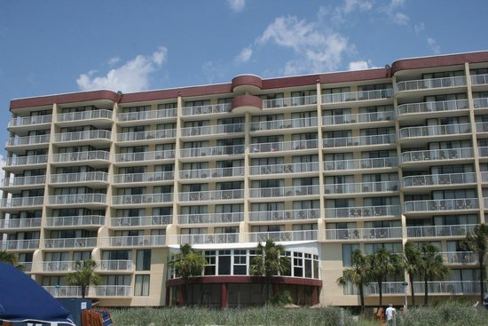 Wyndham Vacation Resorts Westwinds : Beach side of Hotel