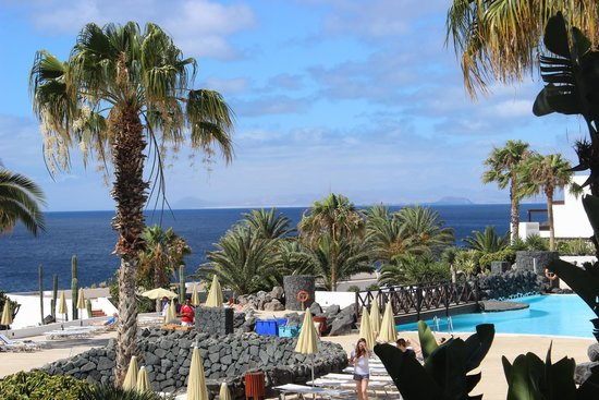 Hesperia Lanzarote: view of sea from our room