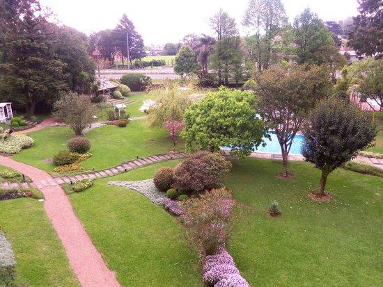 Hotel Alpestre: Vista do quarto 314
