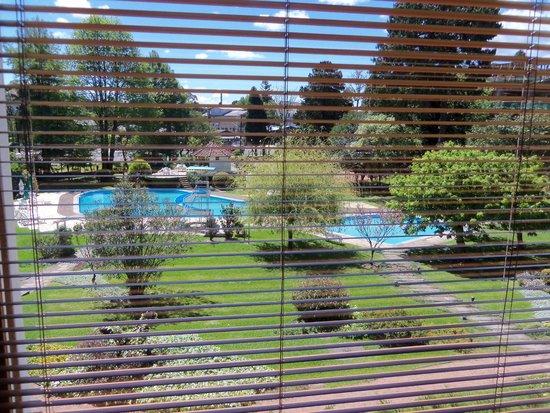 Hotel Alpestre: Vista da sala de estar do hotel