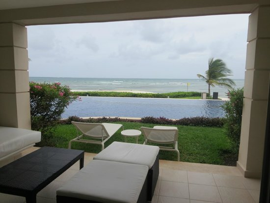 Secrets Silversands Riviera Cancun : View from guest room balcony - 3111