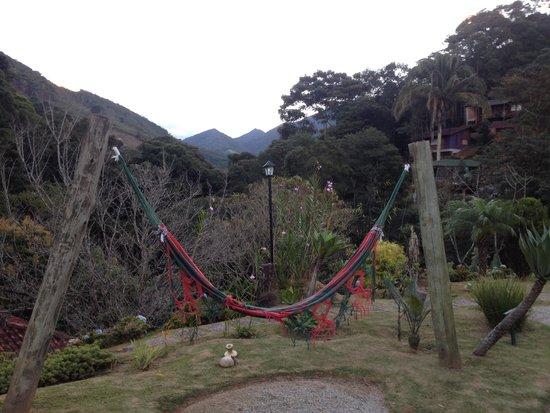 Pousada Sao Sarue Chales: Vista da Pousada