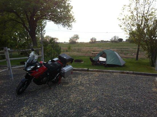 Twin Falls/Jerome KOA: Tent Site