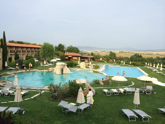 Hotel Adler Thermae Spa & Relax Resort : Vista dalla camera 124