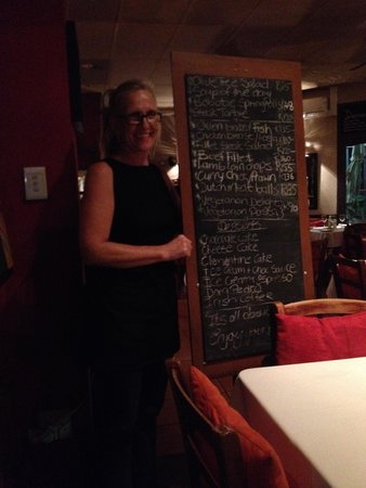 """The Olive Tree: The Chalk Board and """"Hostess"""""""
