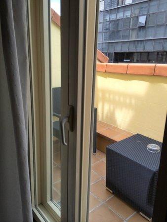 Hotel Preciados: Patio