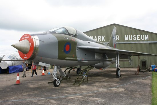Newark Air Museum: Lightning