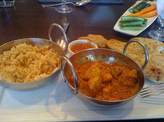 Hilton London Angel Islington : Chicken Tikka Masala